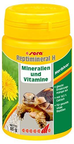 sera reptimineral H 100ml Ergänzungsfutter aus einem konzentrierten Mineralien-Vitamin-Mix