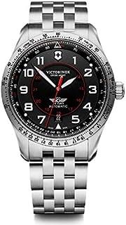 Victorinox - Hombre Airboss Mechanical - Reloj de Acero Inoxidable automático Hecho en Suiza 241888
