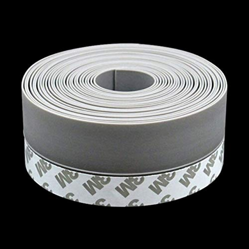 Silicone Sealing Tape - 1 M Length Multi-Function Sealing Strips Glass Window of Model Steel Door Silicone Seals Tape Over The Bar 25/35/45mm Width - Best Door Sealing