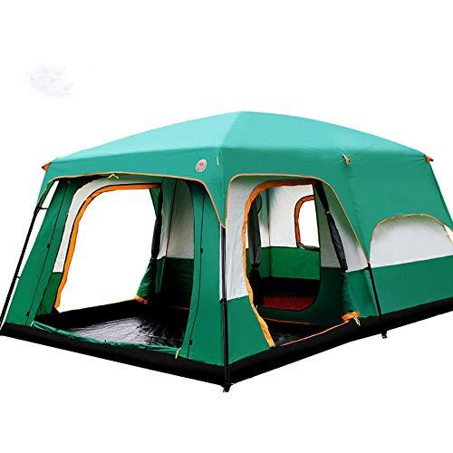 Il Cammello All'aperto 6/7/8/9/10-12 Persone Campeggio 4 Stagione Tenda Tenda Due Camera Da Letto Grande Spazio Tenda Da Campeggio Carpas