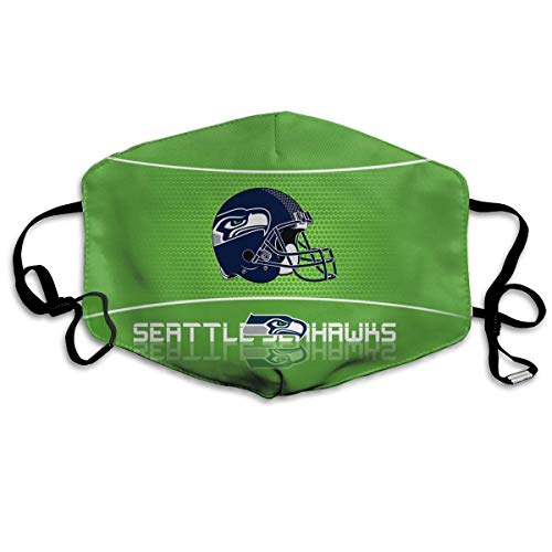 Mundschutz Face Cover Up Seattles Seahawks Face Cover Breathable Anti Dust Reusable Mouth Cover