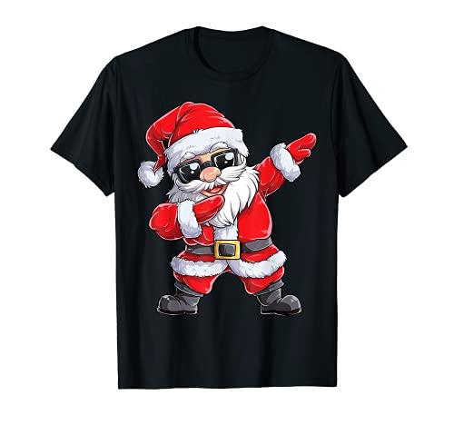 Dabbing Weihnachtsmann Weihnachten Christmas Gifts T-Shirt