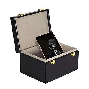 CigaMaTe Faraday Box Vintage Faraday Key Fob Protector Cage RFID Signal Blocking Box Privacy Protection