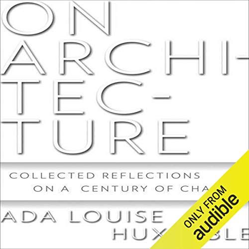 On Architecture audiobook cover art