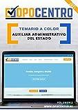 Temario a color Auxiliar Administrativo del Estado: Volumen 2 (Temario a color OPOCENTRO - Oposición Auxiliar Administrativo del Estado)