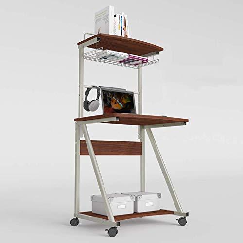 WTT Uitneembare nachtkastje, eenvoudige laptop tafel Lift Bureau Kleine bureau Sofa Bureau TV lade Draagbare game tafel Bureau Bed, Seat regel School bureau anti-bijziendheid (Kleur: B)