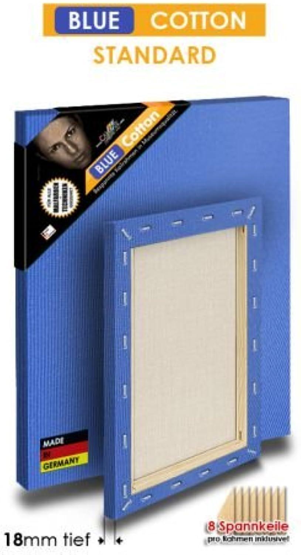 Blau COTTON - STANDARD - Bespannte Keilrahmen Größe 135x270cm  B01BKLFMFU     | Bekannt für seine hervorragende Qualität