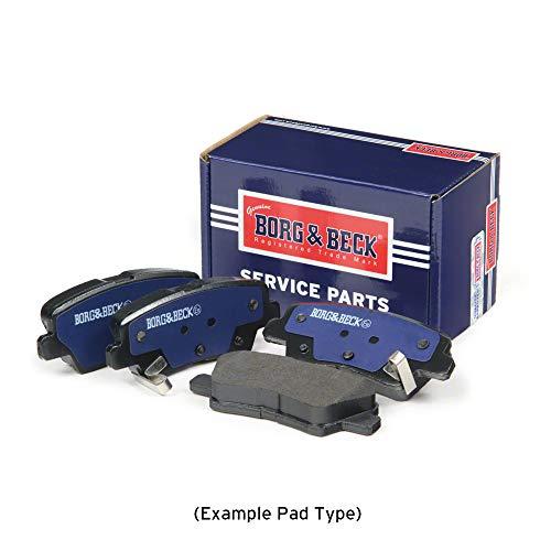 Borg /& Beck BBP2283 Rear Brake Pads Includes Wear Indicators//Leads Akebono