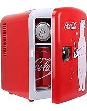 Coca Cola KWC4 Koelkast, elektrisch, uniseks, voor volwassenen, rood