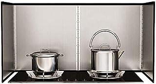Plaque Anti Projection Cuisine Protection Poêle Garde-Boue latéraux pour ustensiles de Cuisine Garde-Boue pour Garde-Boue ...
