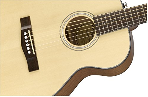 Fender CT-60S Right Handed Acoustic Guitar - Travel Body - Natural