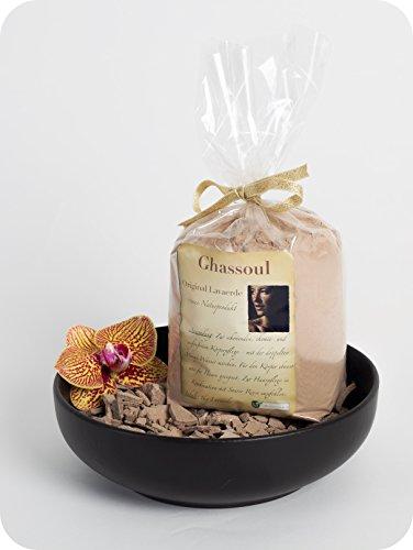 Lavaerde/Ghassoul | Original aus Marokko | 1kg | feines Pulver zur chemiefreien Haarwäsche,...