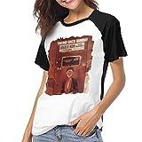 Photo de fenglinghua t Shirts pour Femmes Women's T Shirts Taking Back Sunday Louder Now Raglan Shirt Short Sleeve Baseball Tee Unique Design Top