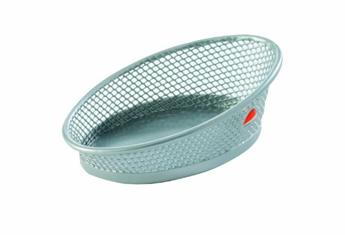 Alba Meshclip - Cesto para clips e imperdibles (metal, diseño reticulado) color gris