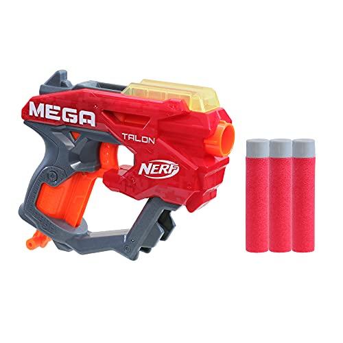 Product Image of the NERF Mega Talon Blaster -- Includes 3 Official Accustrike Mega Darts -- for...