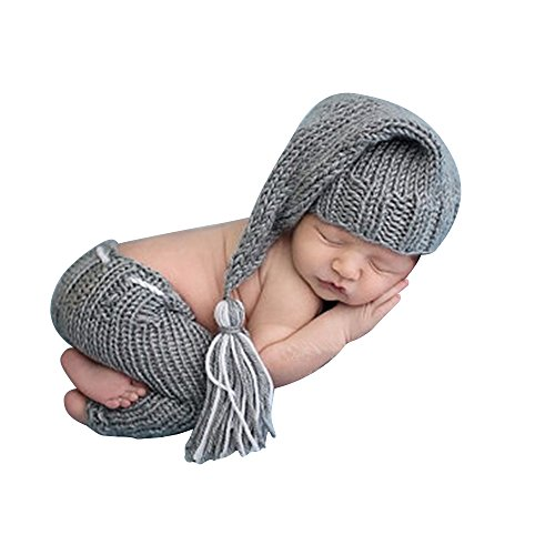 Newborn Photography Baby Clothes,ISOCUTE infant Boy Photo shoot props outfits