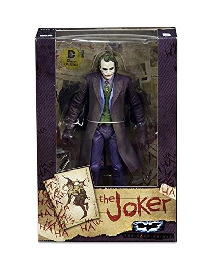 LIANGLMY Figur Bruce Wayne Action Figure Joker Quinn Figur Spielzeug Cartoon-Allianz der Ungerechtigkeit sammelbare Modellpuppe-Geschenk 18cm (Color : D No Box, Size : 18cm)
