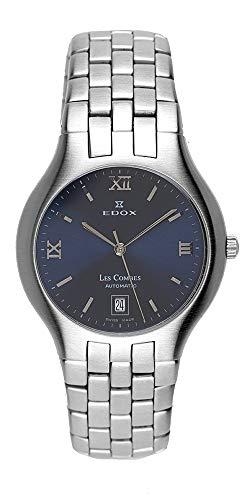 Edox Les Combes Herren-Automatik-Uhr, Swiss Made 80036/S5