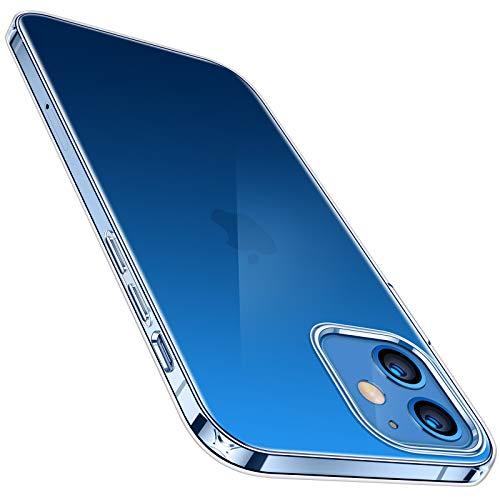 TORRAS Hülle Kompatibel mit iPhone 12 Pro & Kompatibel mit iPhone 12 Transparent