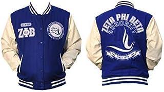 BIG BOY New! Zeta Phi Beta Wool Varsity Jacket Jacket Size L