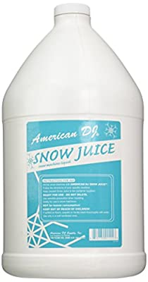 American Dj Snow Juice Gallon Sized Water Based Snow Fluid from ADJ Products