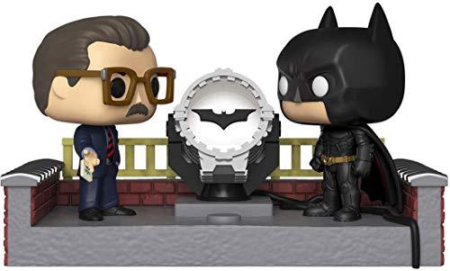 Pop! Figurine en Vinyle: Movie Moment: Batman 80th - with Light Up Bat Signal