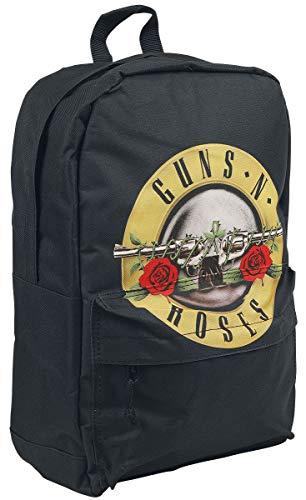 Guns N Roses Roses Logo Klassischer Rucksack, Medium, Black [Vinyl LP]