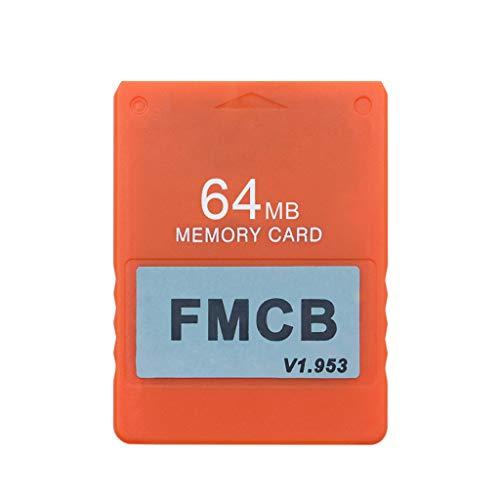 zrshygs Tarjeta de Memoria FMCB v1.953 para PS2 Playstation- 2 Tarjeta McBoot Gratis 8 16 32 64 MB