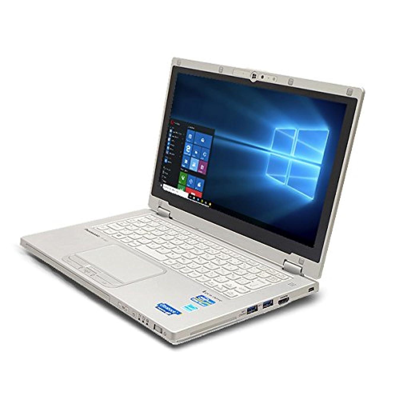 折攻撃的剪断ノートパソコン 中古 Panasonic Let'snote CF-AX2シリーズ Core i5 4GBメモリ 11.6インチ Windows10 MicrosoftOffice2007
