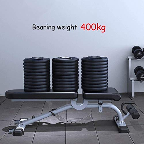 Timtools Weight Bench Adjustable Workout Bench - Professional Commercial Dumbbell Bench Marcy Exercise Utility Bench for Upright, Incline, Decline, and Flat Exercise