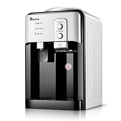 GAYBJ Dispensador de Agua de Escritorio Dormitorio en casa Caliente refrigerado pequeño Dispensador de Agua de Doble Uso Que Ahorra energía