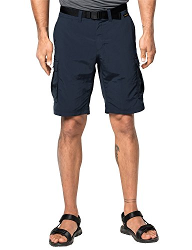 Jack Wolfskin Herren Shorts Canyon Cargo Shorts, Night Blue, 56, 1504201-1010056