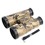 Telescopio Binocolo Compatto 6 * 42 Mini Binocolo Pieghevole con Cinturino Telescopio Giocattolo Portatile Per Bambini Birdwatching Viaggi(Army Green Camouflage)
