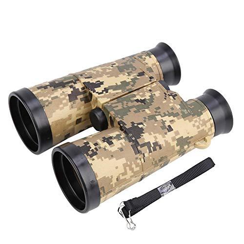 VGEBY1 Kinderferngläser, Kinder Militär Teleskop Fernglas Explorer Spielzeug für Camping, Wandern, Bildung, Vogelbeobachtung(Armee-Grün-Tarnung)
