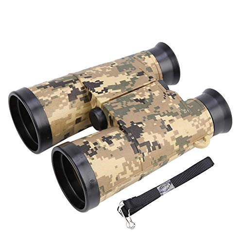 Alomejor Teleskop Fernglas 6 * 42 Compact Mini Fernglas Faltteleskop Spielzeug Kinder Jungen Tragbare Geschenk Vogelbeobachtung Reise(Armee-grün Camouflage)