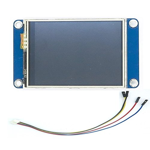 """Makerfire Nextion HMI 2.4"""" TFT 320x240 Resistive Lcd Touch Screen Intelligent Display Module for Arduino NX3224T024 4M Flash, 2KByte RAM, 65k Colors"""