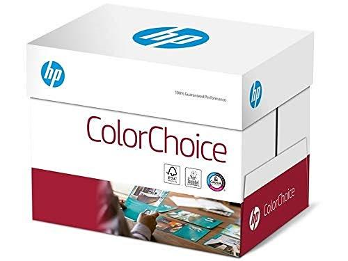 HP ColorChoice CHP750, Farblaserpapier ungestrichen , 90g/m², A4, Karton zu 5 X 500 Blatt, CHP750