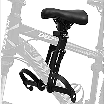 Child Mountain Bike Bicycle Seat, Detachable Front Bicycle Seat (Loading 48 Pounds) Compatible with All Adult mountain Bikes, Suitable for Children Aged 2-5, Easy To Disassemble and Install