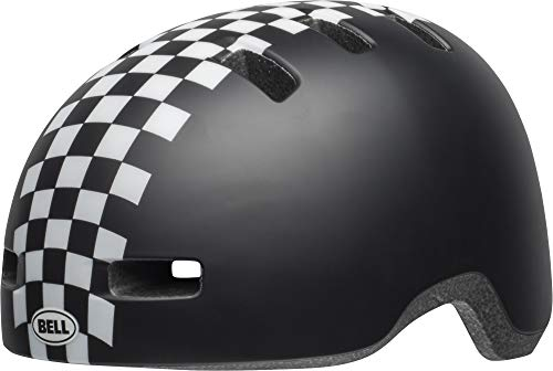 Bell Unisex Jugend Lil Ripper Fahrradhelm, mat Black/White Checkers, Uni Toddler