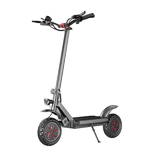 Elektroroller Elektro Scooter zusammenklappbar Offroad-Doppelantrieb Erwachsener Fahrrad Roller maximale Last 150 kg Höchstgeschwindigkeit 60 km / h-60V21AH / 3600W Doppelantrieb vorne und hinten