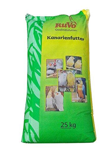 25kg Ruvo Kanarienfutter ohne Rübsen