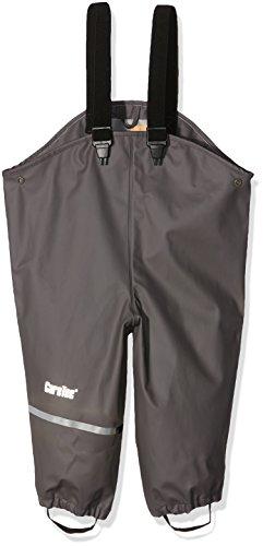 CareTec Pantalones Impermeable Unisex Niños, Gris (Grey), 74