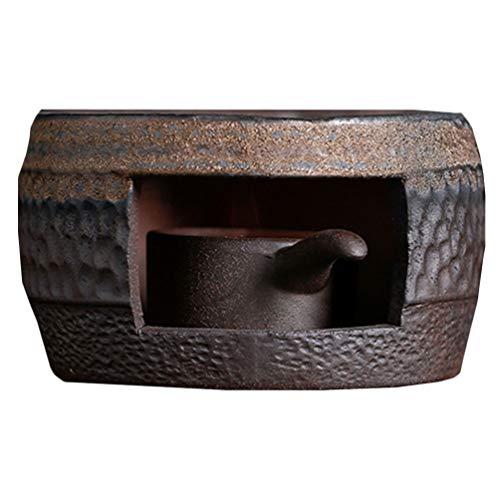 UPKOCH Keramik Tee Wärmer Teekanne Wärmer Keramik Tee Herd Wärmer Kerzenständer Tee Heizung