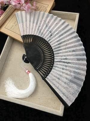 Classical Silk Fan Chinese Retro Folding Bamboo Lady Fan Women W