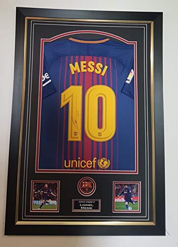 NIEUWE Lionel Messi VAN Barcelona GESIGEND shirt