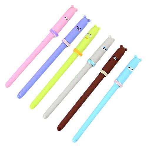 Cosanter pase bolígrafo neutro bolígrafos pequeños animales lindo viento japonés y coreano papelería creativa bolígrafo al por mayor
