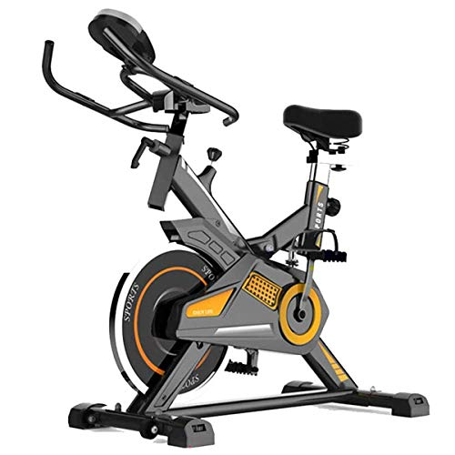 Amazing Deal GZMUS - Health Care Products Stationary Exercise Fitness Bike Adjustable Resistance wit...