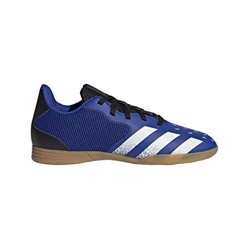 adidas Predator Freak .4 IN Sala J, Zapatillas de fútbol, AZUREA/FTWBLA/NEGBÁS, 36 EU