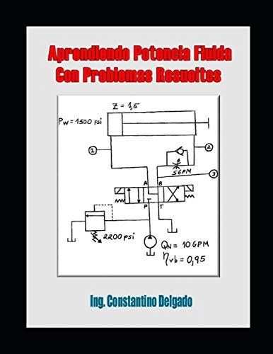Aprendiendo Potencia Fluida Con Problemas Resueltos: 2 (Apuntes Ingeniería Mecánica)