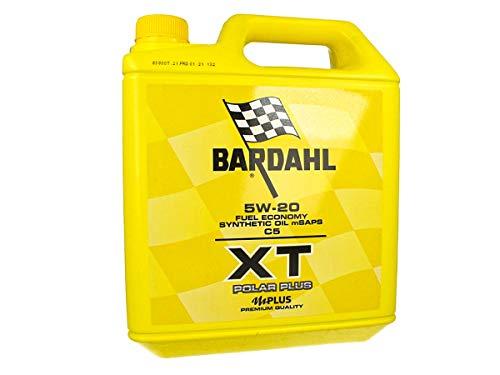 BARDAHL XT Polar Plus 5W20 C5 Aceite de motor Lubricantes Lata de 5 litros